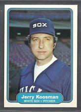 1982 Fleer - #347 - Jerry Koosman - Chicago White Sox