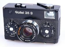 Rollei 35 S black model made in Singapore