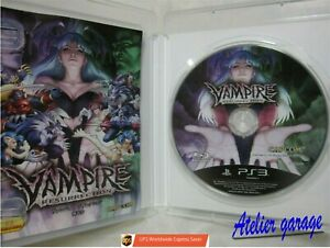 W/Tracking Number. USED English SONY PS3 Vampire Resurrection Japanese Version