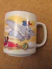 Vintage 1980's Walt Disney World Japan Dumbo Mug Rare