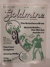SEPTEMBER 1979 GOLDMINE THE RECORD COLLECTOR'S MAGAZINE THE SMOTHERS BROS.