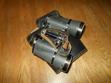 WW2 German Wehrmacht 10x50 Carl Zeiss Jena Binoculars & Case #3 - VERY NICE!