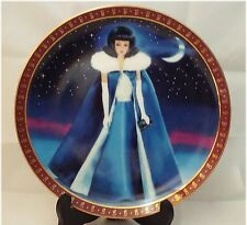 3 Danbury Mint High Fashion Barbie Collector Plates from 1990