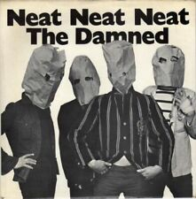 "THE DAMNED NEAT NEAT NEAT 7"" 45RPM   REPRODUCTION PICTURE SLEEVE ONLY"