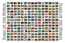 210 FLAGS OF THE WORLD 22x34 Earth Flag Countries Flag NEW/ROLLED!