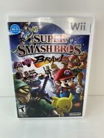 Super Smash Bros. Brawl Nintendo Wii Game Complete With Manual