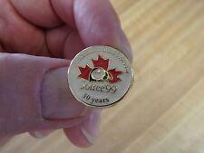 "New Foundland & Labrador Soiree ""99"" 50 Years Pinback Pin"