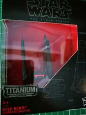 Star Wars The Black Series Kylo Rens Command Shuttle  (03) Titanium Series