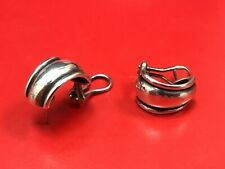 James Avery Sterling Silver Christina French Clips