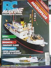 MODEL BOATS FRENCH MAG RC MARINE MEDELISME NAVAL # 102 1999 MICROPLUS CYRCEE