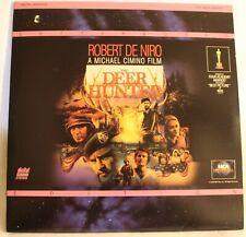 Laser Disc The Deer Hunter 2 Disc Set Robert De Niro