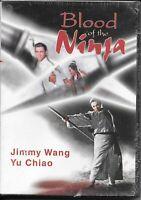 Blood Of The Ninja (DVD) Jimmy Wang Yu Chiao - Martial Arts Classic NEW!