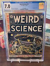 E.C. Comics, Weird Science #16, 1952 CGC 7.0