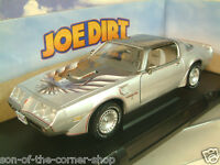 "GREENLIGHT 1/18 1979 PONTIAC FIREBIRD TRANS AM IN SILVER ""JOE DIRT"" MOVIE #12952"