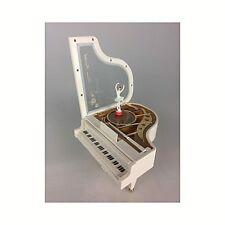 Spieldosen CARILLON Kugel Brillant H.16 mit BALLERINA rotierend Melodie:See der Schwäne
