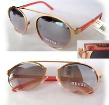 NWT GUESS GF0326 Womens Sunglasses Gold/Rose mirror $75