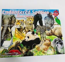 Melissa & Doug Extra Large Floor Puzzle 2 x 3 feet #401 Endangered Species