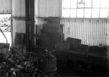 PHOTO  GWR NUMBERPLATES AT SWINDON C.1959