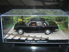 JAMES BOND CAR COLLECTION 121* VOLGA GAZ- 24 & Magazine /sealed packaging/Rare