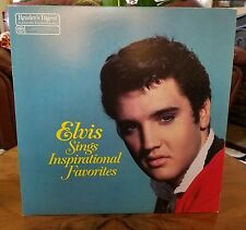 ELVIS PRESLEY●READERS DIGEST●ELVIS SINGS INSPIRATIONAL FAVORITES●c1983●RARE●N/M