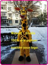 Giraffe Mascot Costume Suit Cosplay Party Game Dress Outfit Halloween Adult 2019