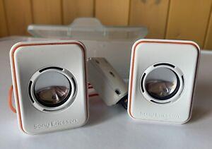 Sony Ericsson Walkman Speakers Genuine Retro/Vintage.Very good condition.