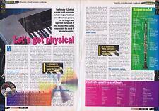 YAMAHA VL1 SYNTH 2 Page original press clipping