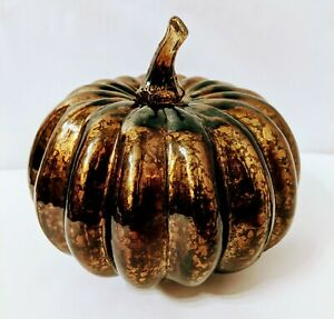 464910 Orange Lighted Pumpkin Halloween Thanksgiving Harvest Autumn Decoration