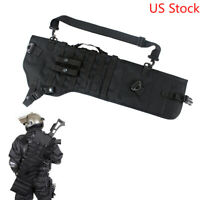Outdoor Shotgun Scabbard Holster Tactical MOLLE Rifle Sling Case Bag for Hunting