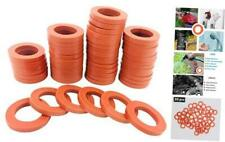 New listing 50 Pcs Garden Hose Washers Rubber Washers Seals, Hose Gaskets Heavy Duty Water H