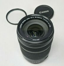 Canon EF-S 18-135mm f/3.5-5.6 IS STM Lens - Plus Filter