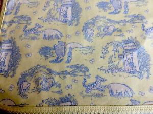 Baby Blanket Quilt, Winnie The Pooh Design, Tiger, Disneyland Resort, Yellow