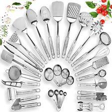 New Listing29 Piece Cooking Utensils - Stainless Steel Kitchen Utensil Set - Nonstick