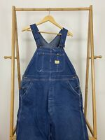 RARE VTG 50s Penny's Pay-Day Sanforized Union Made Bib Overalls *SEE MEASUREMENT