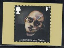 """Great Britain """"Frankenstein"""" by Mary Shelley Royal Mail Stamp Card"""