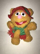 1988 McDonalds Muppets Baby Fozzie Bear Chris 00004000 tmas Plush Stuffed Muppet Babies