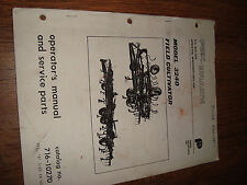 Fox Brady Model 3240 Field Cultivator Cat No. 716-10270 Operators Manual