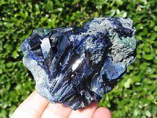 Minerali *** CRISTALLI di AZZURRITE BLU Marocco