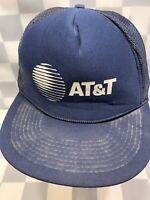 AT&T Vintage Trucker Mesh Snapback Adult Cap Hat