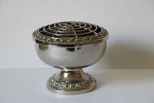 englische Steckvase Vase versilbert Tischdekoration