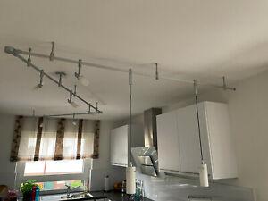 Deckenlampe - Fischer Leuchte – m6 Licht Schienensystem mit 9 Lampen