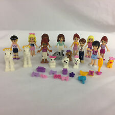 Lot of Lego Friends Girls Pets Minifigures People MiniFig Accessories Lot #2