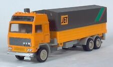 "Volvo Globetrotter Jet Truck 7"" Die Cast Scale Model Covered Flatbed"