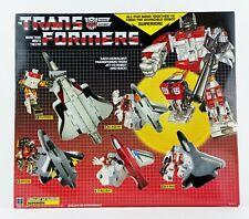 Transformers Reissue Heroic Autobot Aerialbot Air Warrior Superion 5 Figure Set