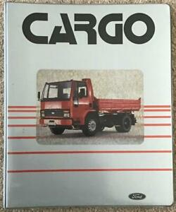 FORD CARGO Large Format Press Information Pack MAR 1981 The Technical Story