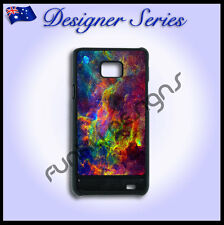 Designer Samsung S2 case hard cover Art Collection Supernova Galaxy 29 Pretty