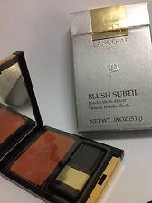 Lancome Blush Subtil Delicate Oil Free Powder Blush ( Roux Dore ) New In Box.