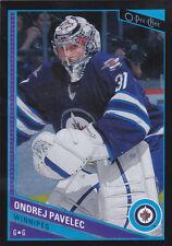 13-14 OPC Ondrej Pavelec /100 Rainbow BLACK O-PEE-CHEE Winnipeg Jets