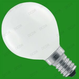 6x 60W OPAL DIMMABLE GOLF LIGHT BULBS, SMALL SCREW, SES, E14, LAMPS