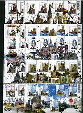 Beautiful Netherlands - Mooi Nederland 2006 10 souvenirsheets -  MNH - Perfins